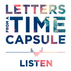 Strange Fiction - Letters From a Time Capsule - Listen pre-release cover